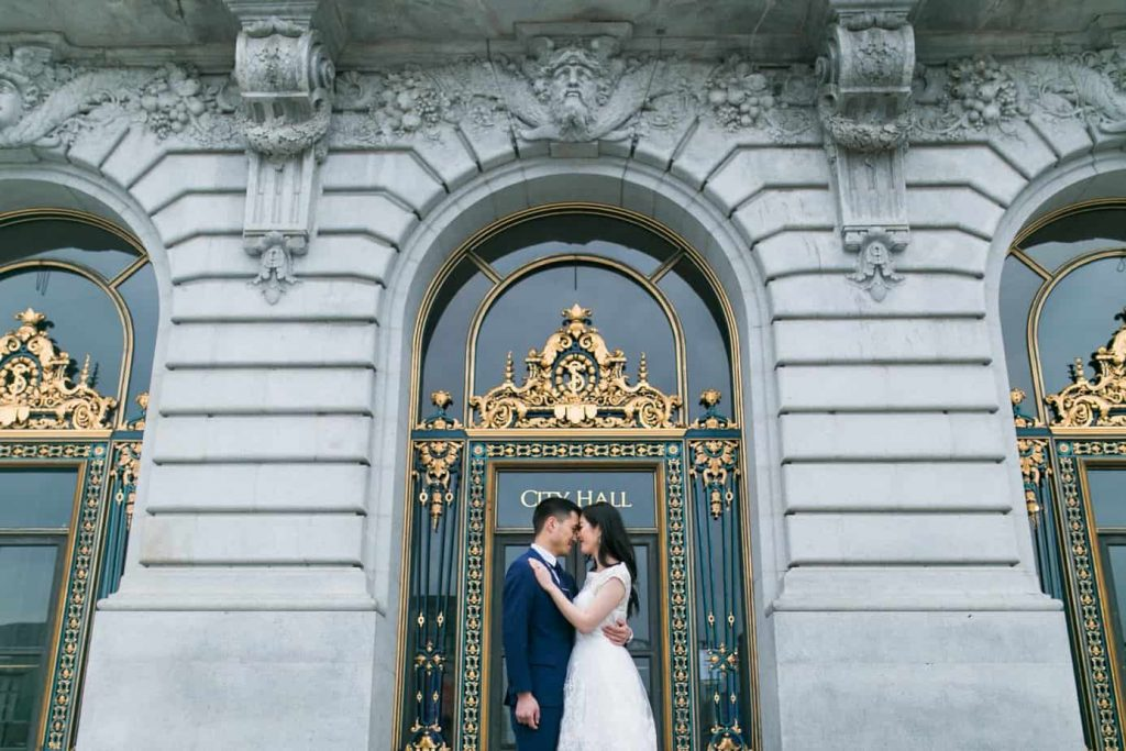 sf city hall wedding video