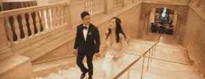 Asian art museum wedding videographer