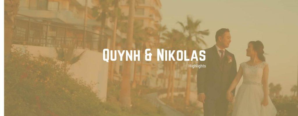 The Waterfront Beach Resort Wedding | Quynh and Nikolas