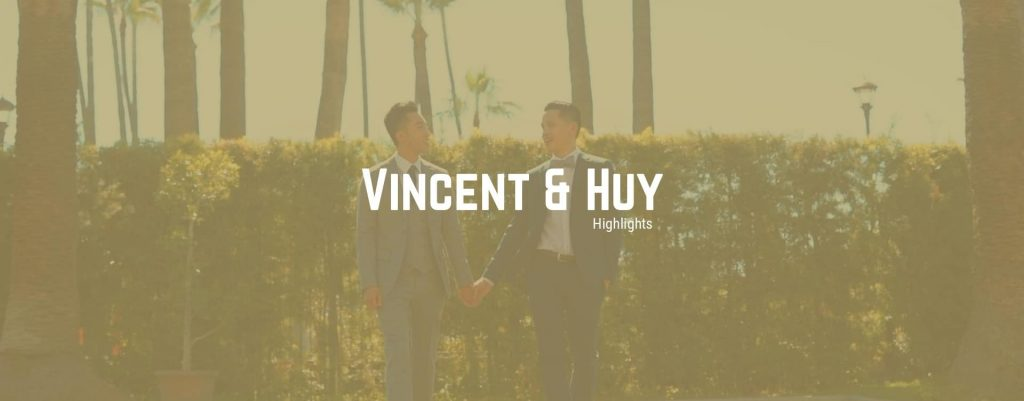 Los Angeles Wedding - Vincent and Huy